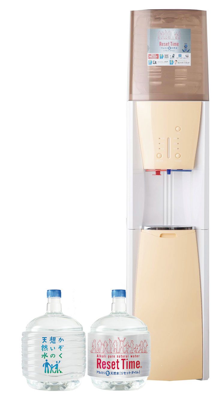 かぞく想いの天然水+リセットタイム12L(ボトル+サーバー)